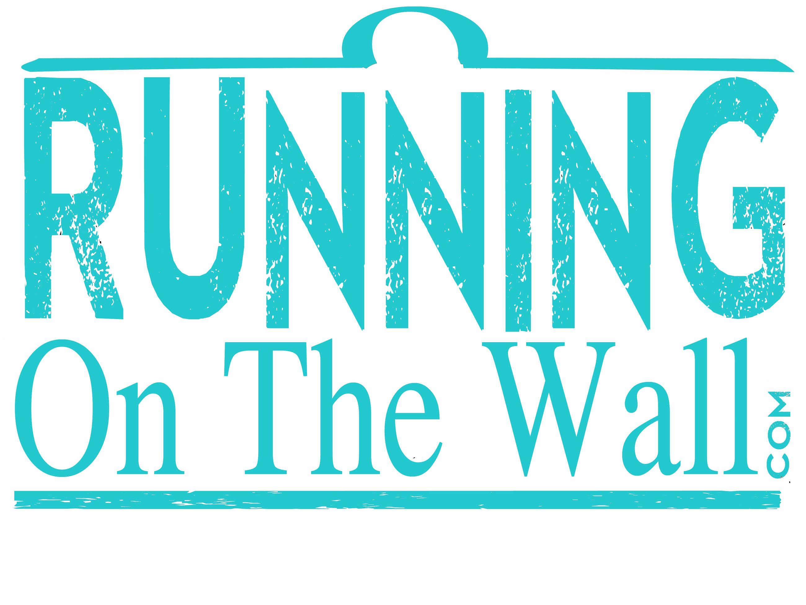 running on the wall logo