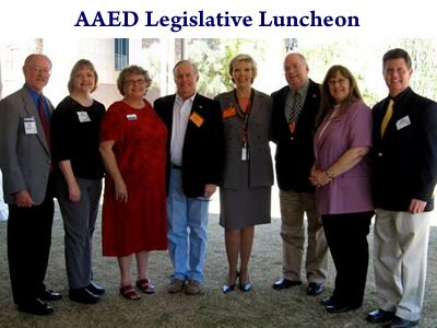 Arizona Association for Economic Development (AAED) Legislative luncheon at the State Capitol