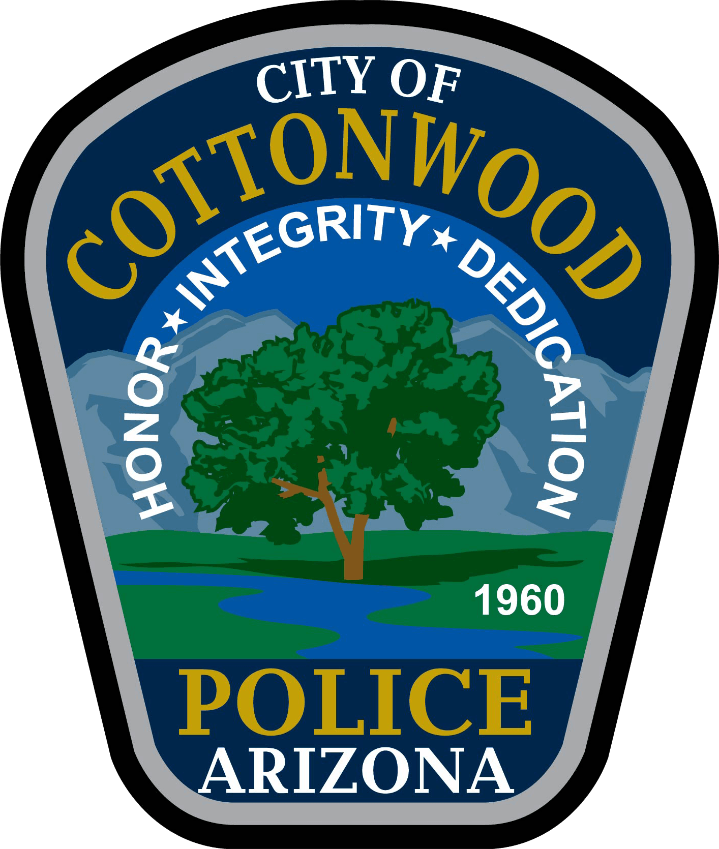 C-55547 Cottonwood PD Patch Arizona