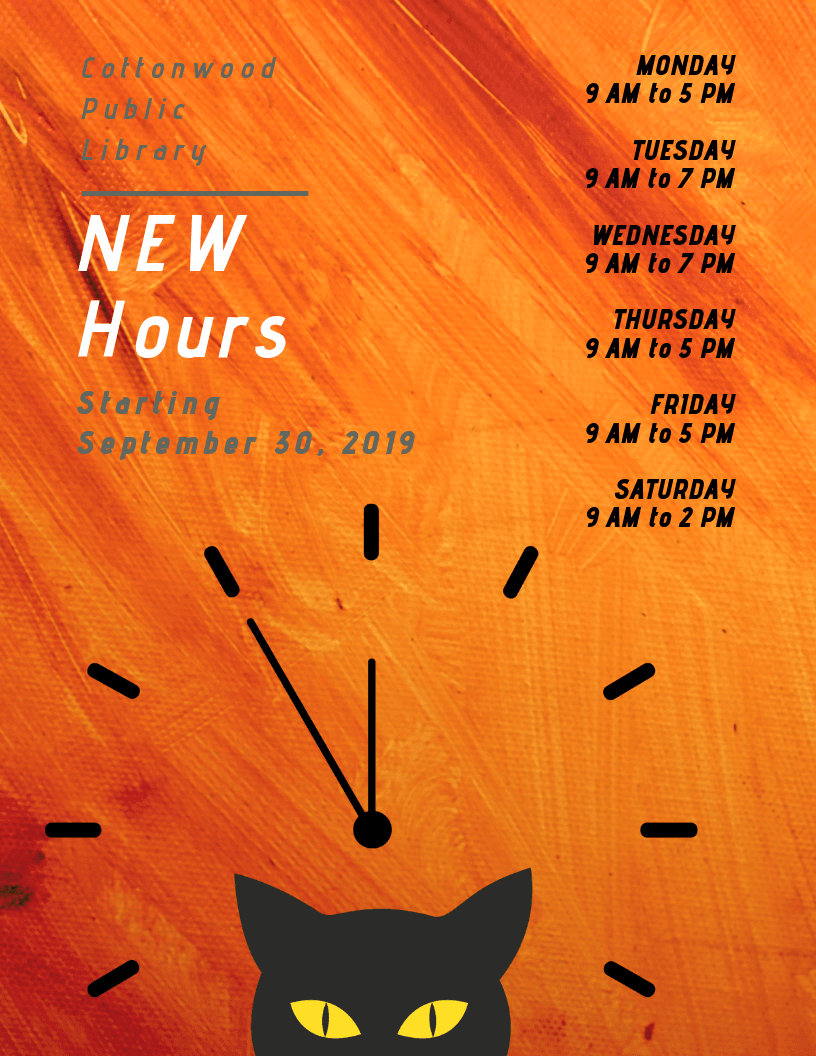 Copy of NEW HOURS flyer